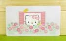 【震撼精品百貨】Hello Kitty 凱蒂貓~卡片-花(M)