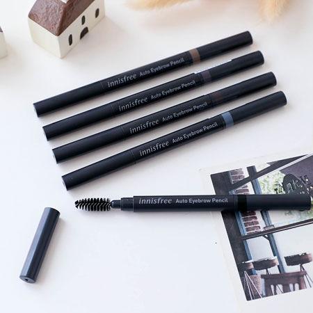 韓國 innisfree 妝自然眉筆 0.3g 眉筆 雙頭眉筆 眉刷 Auto Eyebrow Pencil 新包裝