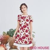 RED HOUSE蕾赫斯-NG商品-小雛菊洋裝
