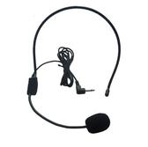 小擴音器耳麥話筒頭戴式教師教學專用有線麥克風