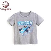 優貝宜 兒童短袖t恤中大童 男童夏季上衣 寶寶夏裝童裝卡通小衫