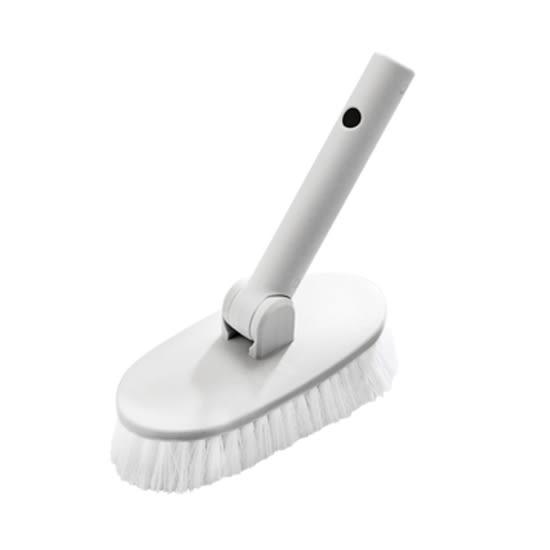 硬毛刷  地板刷 清潔刷 長刷 大掃除 北歐風 浴缸刷 可伸縮 鋁桿長柄刷(硬毛刷) 【W002】MY COLOR
