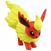 〔小禮堂〕神奇寶貝Pokémon 火伊布 迷你塑膠公仔玩具《橘》寶可夢公仔.模型 4904810-59932