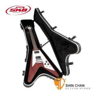 【缺貨】 V型電吉他專用硬盒 SKB SKB-58 可鎖【SKB58/Flying V® Hardshell Guitar Case】