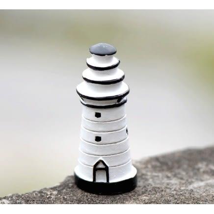 ⓒ48H內出貨🔥大號白色燈塔微景觀 多肉植物創意微景觀【A020009】