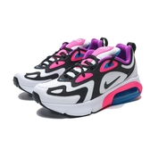 NIKE AIR MAX 200  黑白 粉紫 大童 氣墊 慢跑  女(布魯克林) AT5630-100