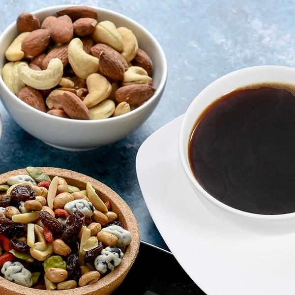 【愛不囉嗦】萃果飄香 綜合堅果&咖啡禮盒(湛盧咖啡版)~健康送禮首選