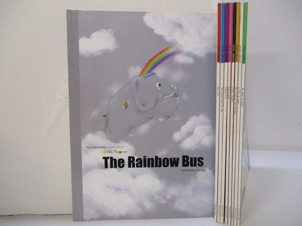 【書寶二手書T1/少年童書_JHD】The Rainbow Bus_Big Fish_Purple Fox等_9本合售