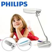 【飛利浦 PHILIPS LIGHTING】鉑光防眩檯燈 FDS668 (時尚白)