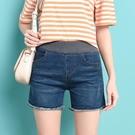 鬆緊腰牛仔短褲女2021夏季薄款胖mm彈力大碼顯瘦百搭卷邊韓版熱褲 3C數位百貨