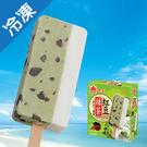 義美抹茶紅豆牛奶雙色冰棒87.5g*5支【愛買冷凍】
