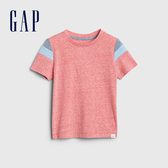 Gap男幼童 棉質舒適圓領短袖T恤 544954-正紅色