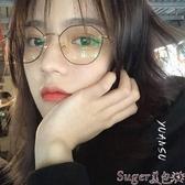 新品眼鏡框ins復古小框網紅同款不規則多邊形眼鏡框防藍光輻射眼鏡架女