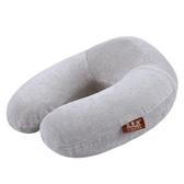 U型枕記憶棉脖子u型枕床頭靠枕護頸枕頸椎枕頭飛機旅行汽車午睡男女新品來襲