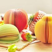 ✭米菈生活館✭【K123】水果造型便利N次貼 文具 韓國 紙條 記事 學生 辦公 留言 可撕 創意 便條紙