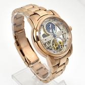 范倫鐵諾˙古柏 玫金鋼製機械錶NEV97