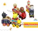 可愛面包超人變身小列車磁鐵木製玩具六件組...