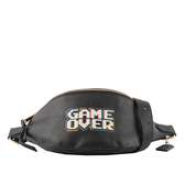 【COACH】Game Over圖案腰包(黑色) F72909 IMA47