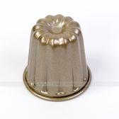 BreadLeaf 5.5*5cm香檳金不沾可麗露模 小蛋糕模 烘焙模具 麵包模 海綿蛋糕模 布丁果凍模B025
