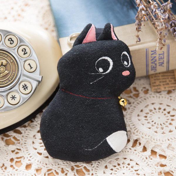 Kiro貓‧小黑貓鑰匙零錢包/包包吊飾/鑰匙掛件/小物包【222689】