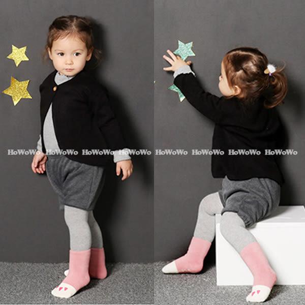韓國小爪子加厚防滑寶寶襪 嬰兒止滑襪 0-4歲 CA1208 好娃娃