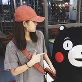 韓製布鴨舌帽女棒球帽情侶男夏天潮帽子