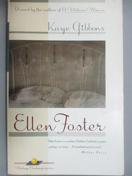 【書寶二手書T6/原文小說_LGU】Ellen Foster_Kaye Gibbons