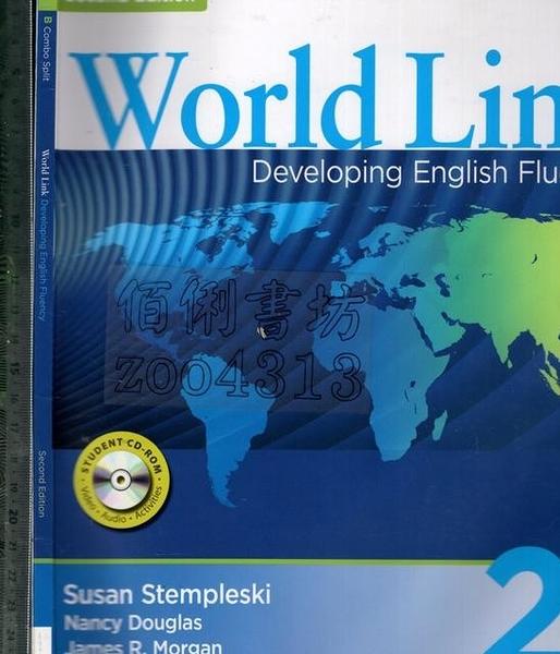 二手書R2YB《World Link 2B Combo Split 2E 1CD