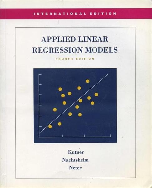 (二手書)Applied Linear Regression Models