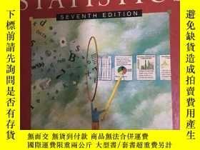 二手書博民逛書店elementary罕見statistics(seventh e