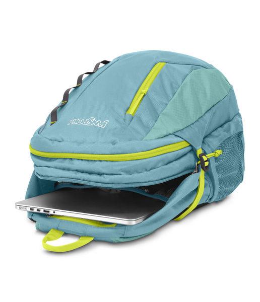 JANSPORT 經典戶外後背包 可放筆電(15吋)-海灣藍-JS43070