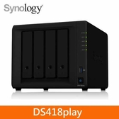 Synology DS418play 4Bay 網路儲存伺服器