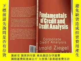 二手書博民逛書店fundamentals罕見of credit and credit analysia corporate cre