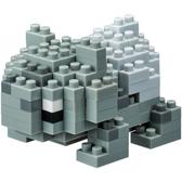【日本KAWADA河田】Nanoblock迷你積木-神奇寶貝/寶可夢 妙蛙種子 (綠版) NBPM-016