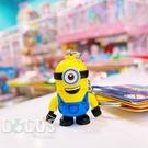 正版 LEGO 樂高鑰匙圈 迪士尼 Minions 小小兵 人偶鑰匙圈 鎖圈 吊飾 史都華款 COCOS FG280