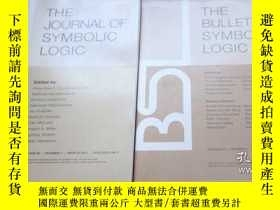 二手書博民逛書店the罕見journal of symbolic logic 兩冊合售Y330435 write press