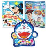 Disney 迪士尼 Happy Sky/玩具總動員/多啦a夢 泡澡球(單顆入) 3款可選【小三美日】