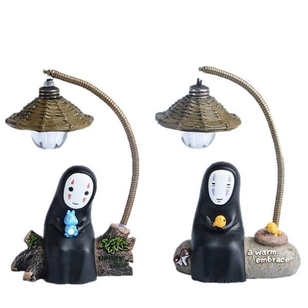 萌款無臉男小夜燈微景觀(單入) 居家裝飾 CARMO【LI06002】