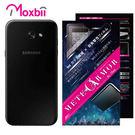 Moxbii SAMSUNG Galaxy A7 2017 抗衝擊 9H 太空盾 Plus 背面保護貼(非滿版)