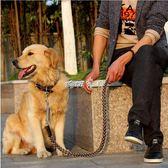 狗項圈 中型大型犬狗狗牽引繩帶金毛拉布拉多牛皮項圈遛狗繩子 珍妮寶貝