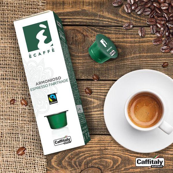 Armonioso 艾默尼索 10顆裝 Caffitaly8公克 伯朗咖啡膠囊燦坤Tiziano膠囊咖啡