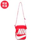 【現貨】NIKE Heritage 2.0 橘紅 大勾 男女 萬用 小冊包 基本款 好搭 輕便 隨身包 BA6344-671