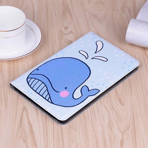 卡通3D彩繪 三星 Tab A 10.1 2019 T510 T515 保護套 平板皮套 平板殼 智慧休眠 全包 保護殼 硬殼