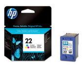 [哈GAME族]可刷卡 HP 22 C9352A/C9352AA 原廠彩色墨水匣DJ3920/DJ3940/D2360/F380