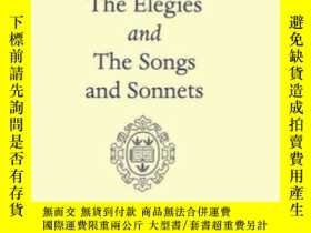 二手書博民逛書店Elegies罕見And The Songs And Sonne