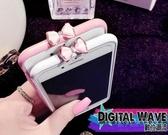 24H   蘋果iphone 6s plus 蝴蝶結水鑽金屬烤漆邊框保護邊框金屬框防摔蝴蝶結