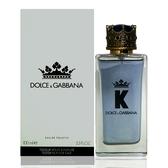 Dolce & Gabbana K 王者之心男性淡香水100ml Tester 包裝