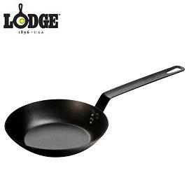 丹大戶外用品【LODGE】CRS8 8吋鋼鐵煎鍋 荷蘭鍋/平底煎鍋/造型模具