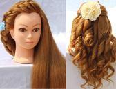 練習模具 模特頭盤髮  化妝假人頭編髮燙卷  假真髮練習頭教習頭  居優佳品DF