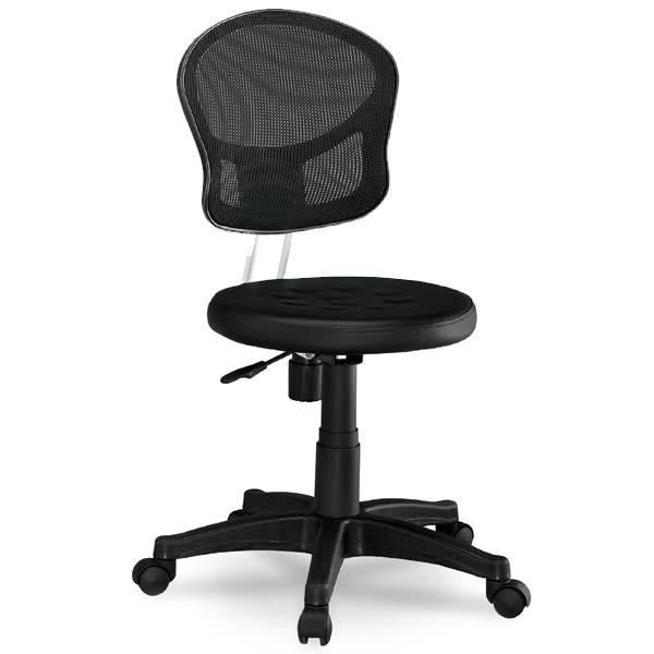 小巧黑色網布電腦椅/辦公椅(18SP/286-5)【DD House】